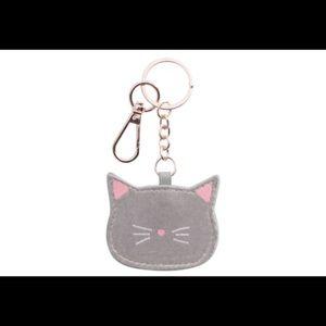 LC Lauren Conrad cat keychain NWT